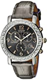 Citizen FB1298-05H Eco-Drive Ladies Drive Stainless Steel Swarovski Crystal Chronograph Watch