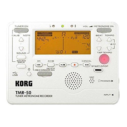 KORG Tuner / Metronome / recorder TMR-50 PW Pearl White