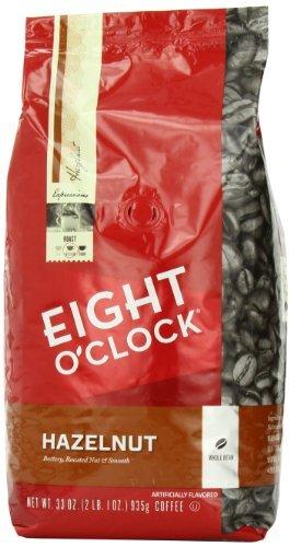 Eight O'Clock Hazelnut Whole Bean Coffee, 33-Ounce Bag, Garden, Lawn, Maintenance