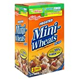 Kelloggs Frosted Mini-Wheats, Bite-Size Cereal, 58.8-Ounce Box