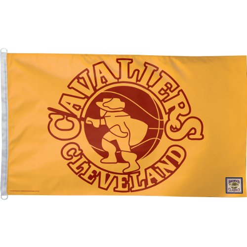 NBA Cleveland Cavaliers 3-by-5 foot Flag - Retro