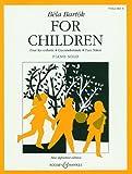 Béla Bartók für Kinder: basierend auf ungarischen Volksmelodien. Vol. 1. Klavier.