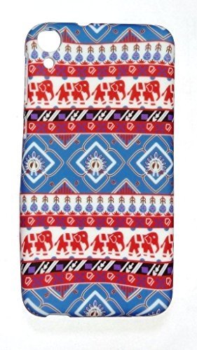 Techno TrendZ(TM )New Latest Imported Traditional Rajasthani Designer Printed Smooth Matte Finish Soft Silicone Back Case Cover for HTC Desire 820G + , 820s ,820q , 820 Dual Sim