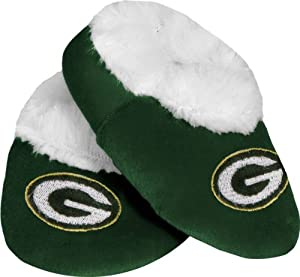 Green Bay Packers Baby Bootie Slipper by Forever Collectibles
