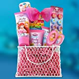 GiftBasket4Kids Perfect Birthday, Gift Baskets for Girls Disney Princess Toiletries Kids Gift Baskets