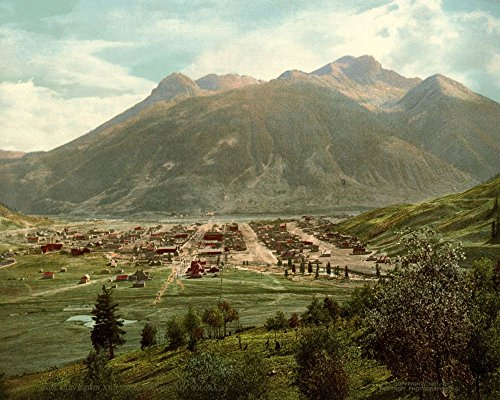silverton-and-sultan-mountain-colorado-usa-c1890-1900-a4-glossy-print-taken-from-a-wonderful-old-pho