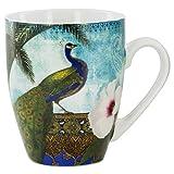 Kashmir Peacock Mug