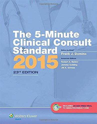The 5-Minute Clinical Consult 2011, 19th Edition (The 5-Minute Consult Series)