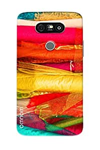 Omnam Colored Pattern Printed Designer Back Cover Case For LG G5