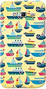 Kasemantra Fishing Boats Case For Galaxy Grand Prime