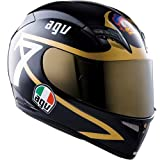 AGV T-2 BARRY SHEENE REPLICA FULL FACE MOTORCYCLE HELMET BLACK/GOLD LG/LARGE