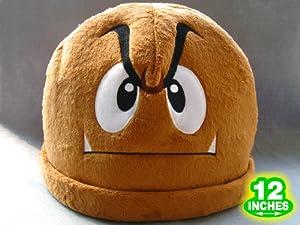 Mario Bro: Goomba Mushroom Costume Hat