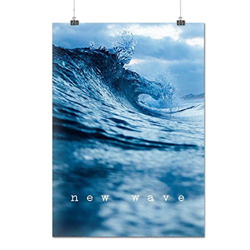 new-ocean-wave-surge-surf-time-matte-glossy-poster-a4-30cm-x-21cm-wellcoda