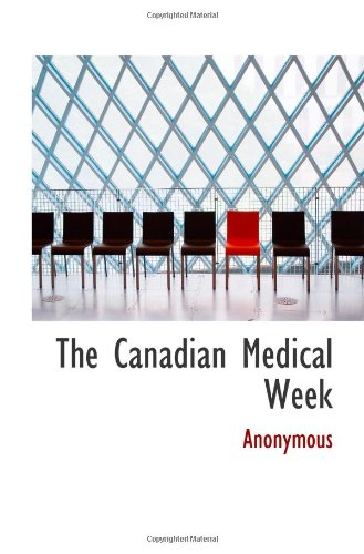 The Canadian Medical Week front-916522