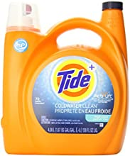 Tide Coldwater Clean Fresh Scent High Efficiency Liquid Laundry Detergent, 72-Loads, 4.08-Liter- Packaging May Vary