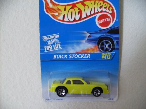 Hot Wheels Buick Stocker 	 1996 #472 5 SPOKE WHEELS - 1