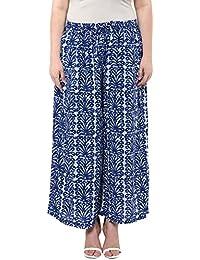 Alto Moda By Pantaloons Women's Comfort Fit Palazzo