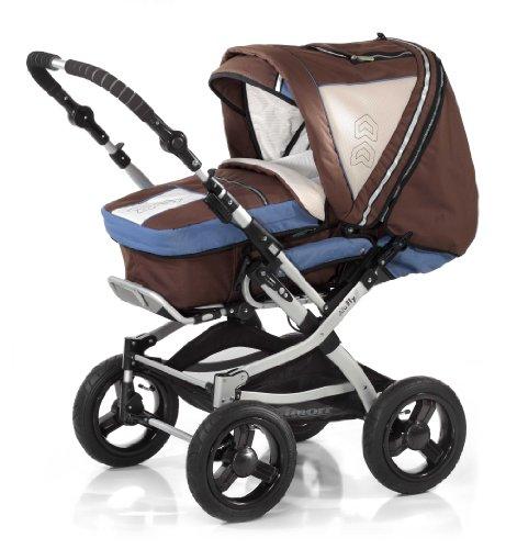 knorr baby kombikinderwagen alu fly im test baby test. Black Bedroom Furniture Sets. Home Design Ideas