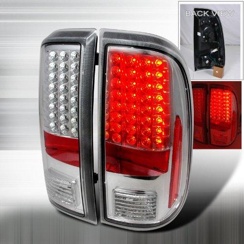 2008 2011 ford f250 led tail lights chrome. Black Bedroom Furniture Sets. Home Design Ideas