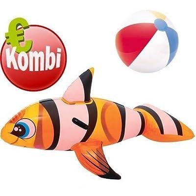 BESTWAY Badefigur Clown Fish