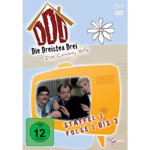 Die Dreisten Drei Die Comedy WG - Staffel 1, Folge 1 bis 3 hier kaufen