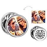 Soufeel 925 Sterling Silver Add Your Own Photo Charm