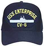 USS Enterprise CV-6 Ship Ball Cap
