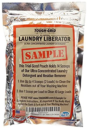 Laundry Liberator Sample  Ultra-Concentrated Laundry Detergent and Residue