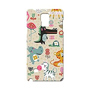 BLUEDIO Designer Printed Back case cover for Samsung Galaxy Note 4 - G0105