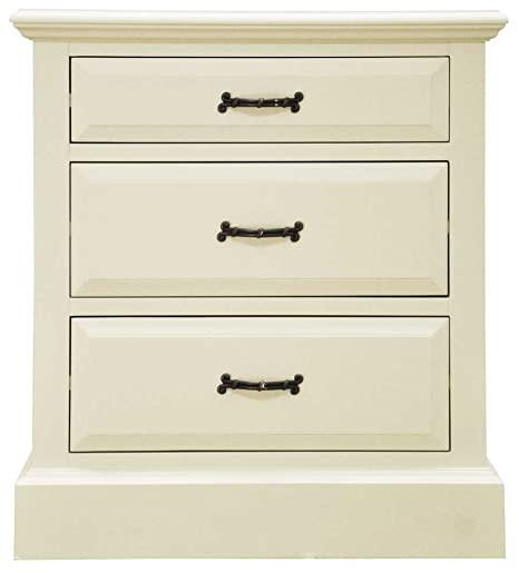 Ultimum Reiver Off White 3 Drawer Chest
