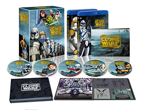[Blu-ray] Star Wars (2, 000 Sets-limited): a Clone Wars Season 1-5 Collectors Edition (Class 14 Pieces)