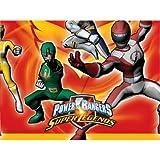 """Power Ranger """"Super Legends"""" Plastic Table Cover. Size 120cm x 180cm."""