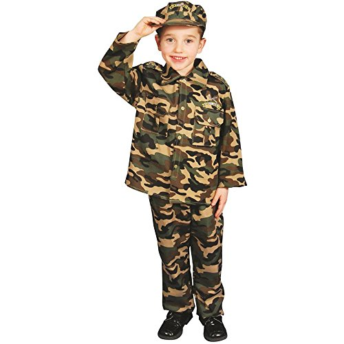 Deluxe Army Dress-Up Toddler Costume