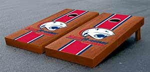 University of South Alabama Jaguars Cornhole Game Set Stained Striped Wooden by Gameday Cornhole