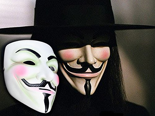 V For Vendetta - Anonymous Mask - FunnyPartyHats TM