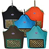 Derby Originals Bright Colored Fiesta Slow Feed Heavy Duty Nylon Horse Hay Bag at Wholesale Price