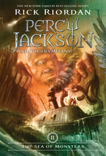 The Sea Of Monsters (Percy Jackson And The Olympians, Book 2) front-404520