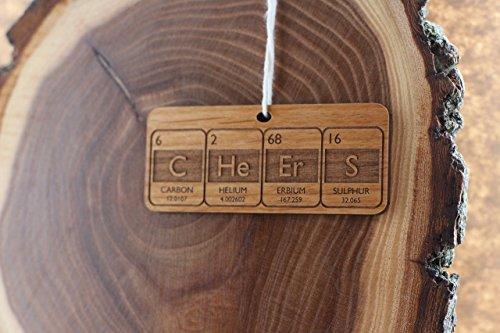 Custom Periodic Table Christmas Ornament- Design Your Own (Ne O Ca Te compare prices)