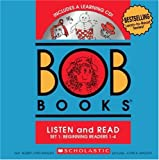 BOB Books Set 1 Bind-up: Books #1-4 + CD (0545019184) by Maslen, Bobby Lynn