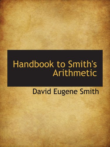 Handbook to Smith's Arithmetic