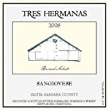 2008 Tres Hermanas Winery Sangiovese 750 mL