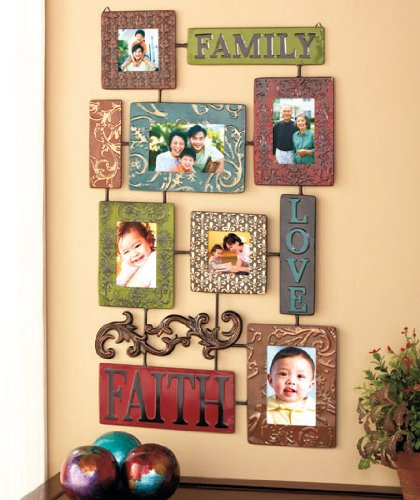 elegant-inspirational-faith-family-love-embossed-scrollwork-metal-collage-photo-picture-frame-red-bl
