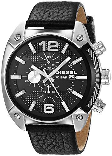 diesel-mens-dz4341-overflow-stainless-steel-black-leather-watch