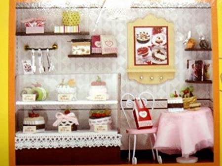 Wooden Mini Doll House Kit Cake Love C-004 (japan import)