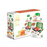 Happy Baby Organic Stage 3 Baby Food, Hearty Meals, Amaranth & Quinoa Ratatouille with Basil, 4 oz (Pack of 16)