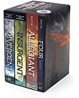 Divergent Series Ultimate Paperback Box Set: Divergent, Insurgent, Allegiant, Four