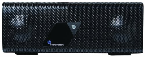 Soundmatters Foxlv2 Aptx Pocket-Sized Portable Bluetooth Audiophile Speaker System, Black, Bluetooth