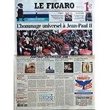 FIGARO (LE) [No 18869] du 05/04/2005 - ESPACE - VINGT-DEUX SECONDES D'APESANTEUR DANS L'AIRBUS DU CNES - LA JOCONDE...