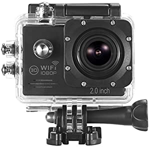 ICONNTECHS IT Full HD 1080P Sport Action Camera WIFI FHD 60 fps HDMI 14MP 170 Degree Wide Viewing Angle 2.0 Inch LCD Waterproof DV Camcorder for Extreme Outdoor Sports
