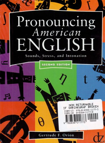 Pronouncing American English Student Text/Audio Tape Package